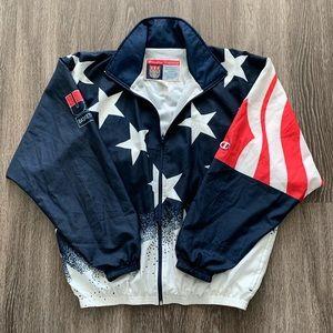 Vintage 90s Team USA Basketball Champion Jacket
